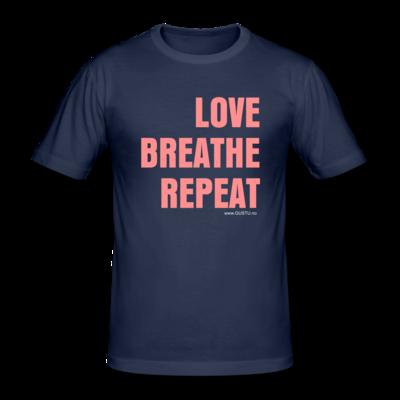 Love, Breathe, Repeat T-skjorte (Herre)