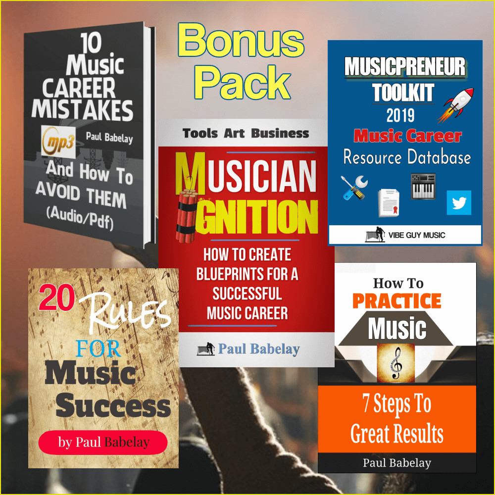 Musician Ignition Bonus Pack - Introductory Offer with 70% Savings!