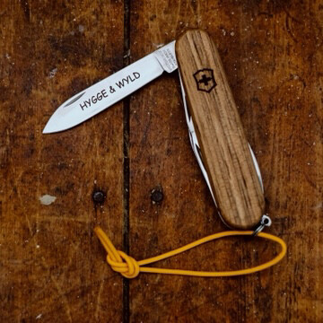 LTD Edition Victorinox 'HyggeandWyld' Spartan Wood Penknife