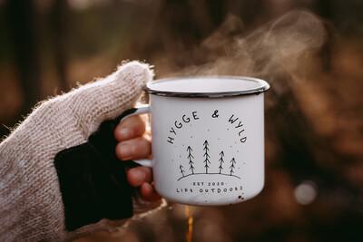 'Tinny' The Adventure Mug (White)