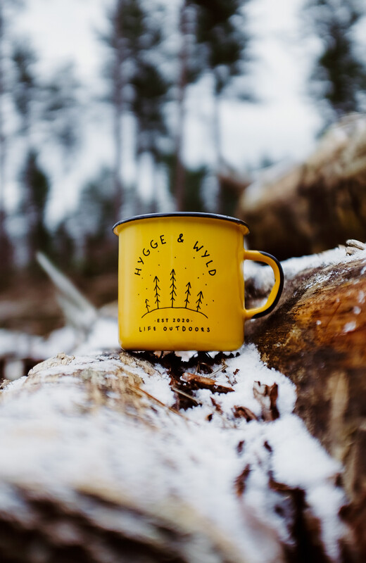 'Tinny' The Adventure Mug (Yellow)
