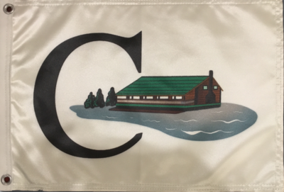 Flag with Clubhouse Logo (Front and Back)