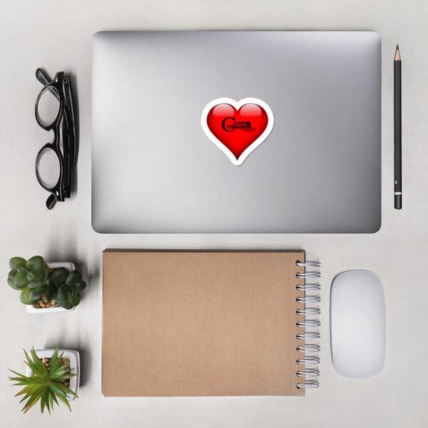 CLCC Heart Logo Sticker