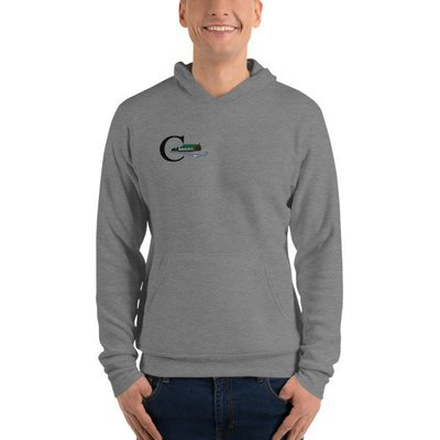 Unisex hoodie - Life is Good at Cranberry Lake