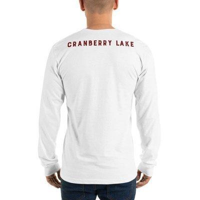Long sleeve t-shirt (unisex) -Cranberry Lake (back)