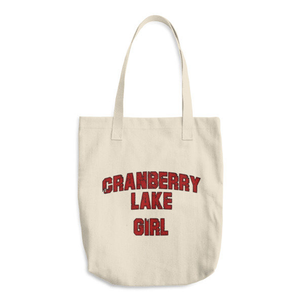 Cotton Tote Bag - Cranberry Lake Girl
