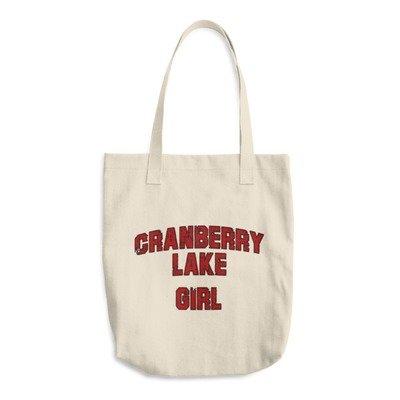 Cotton Tote Bag - Cranberry Lake Girl