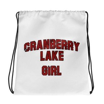 Drawstring bag - Cranberry Lake Girl