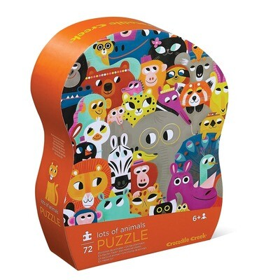 Lots of Animals 72 Piece Puzzle