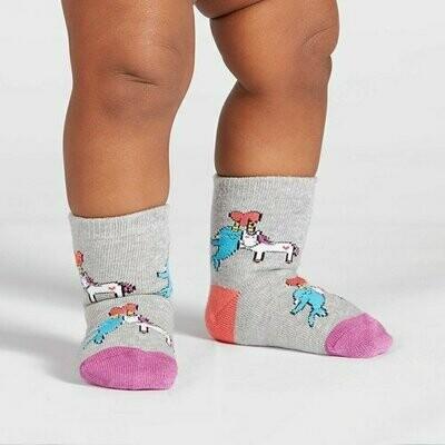 Toddler Crew Socks - Great Horns Think Alike