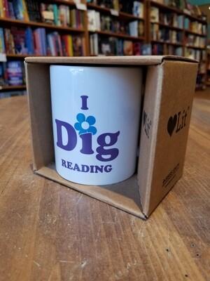 I Dig Reading Mug