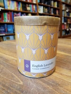 English Lavender Wax Planter - Indoor Garden Kit