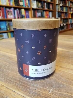 Twilight Cosmos Wax Planter - Indoor Garden Kit