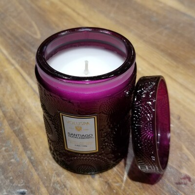 Voluspa Small Jar Candle - Santiago Huckleberry