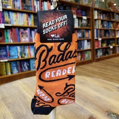 Badass Reader Socks