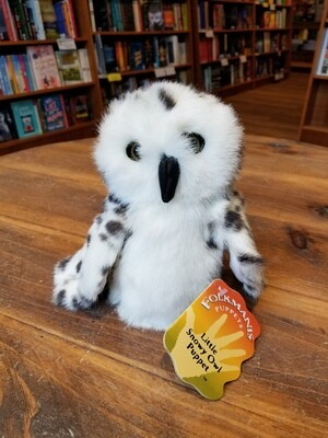 Little Snowy Owl Puppet