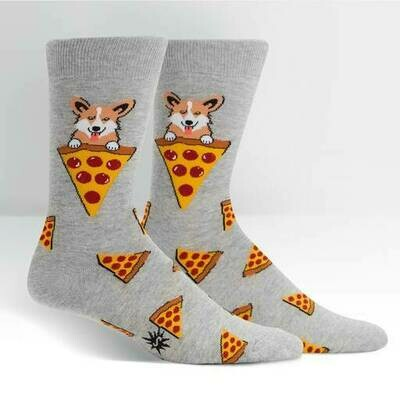Men's Crew Socks - Man's Best Food