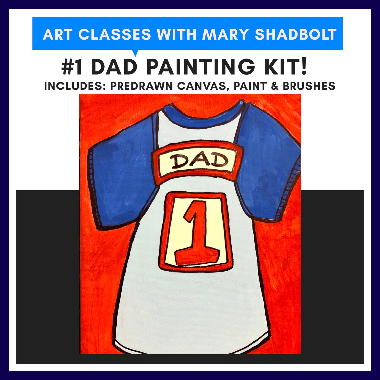 #1 Dad Painting kit