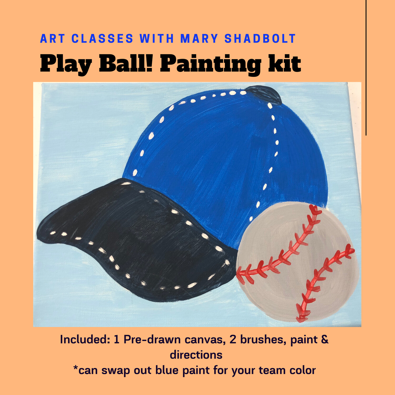 All American Baseball painting kit