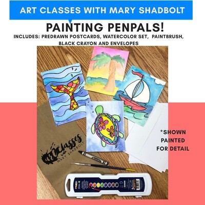 Awesome Painting Penpals