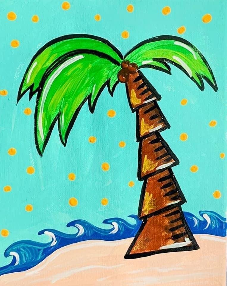 Palm tree Painting Kit