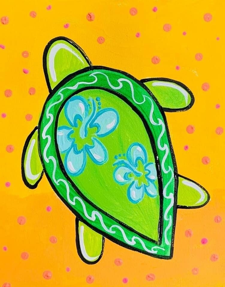 Sea Turtle Painting kit
