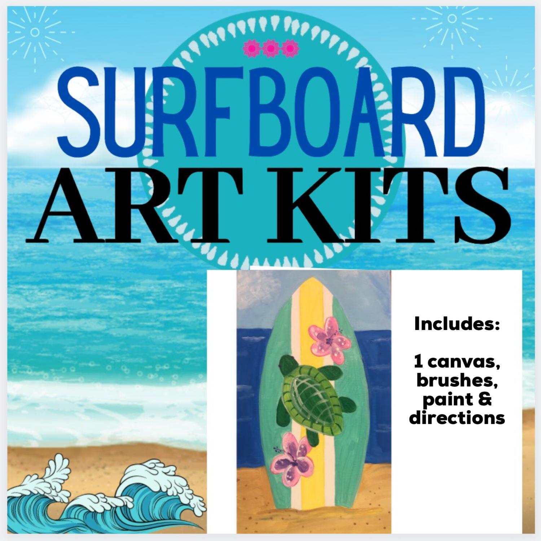 Surfboard Turtle Painting Kit