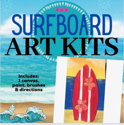 Sunset Surfboard Painting Kit