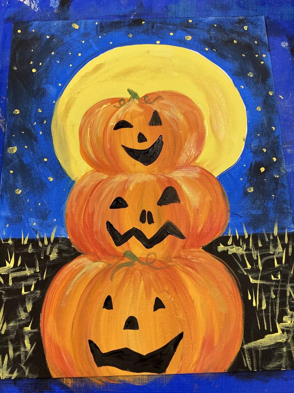 Funny Face Pumpkin Painting Kit