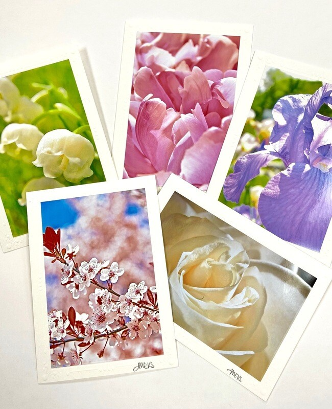 Photo Notecard Gift Pack C Floral
