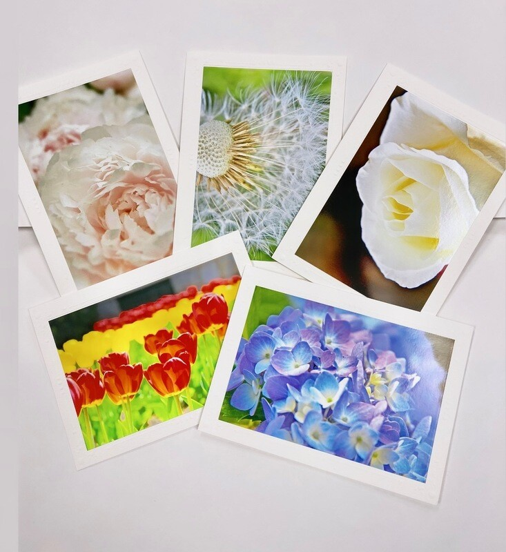 Photo Notecard Gift Pack B Floral