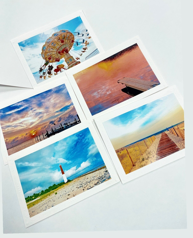 Photo Notecard Gift Pack D Beach