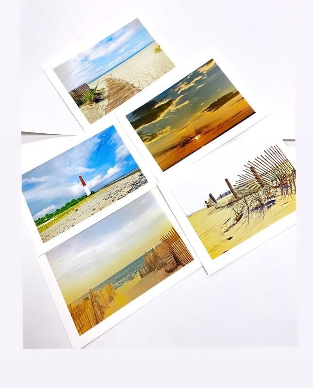 Photo Notecard Gift Pack E Beach