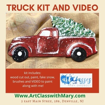 A Truck Paint and Video Kit!