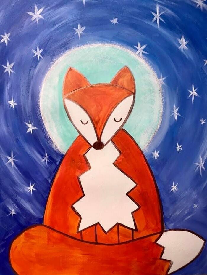 Winter Fox Painting Kit