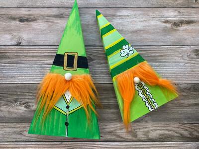 Leprechaun Wooden Gnome Kit