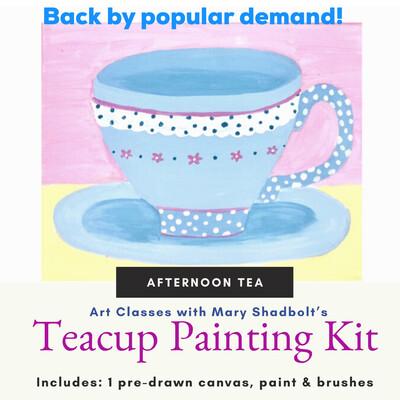 """""""Afternoon Tea"""" Paint Kit"""