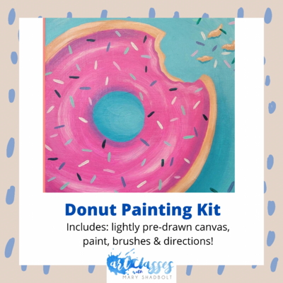 Donut Painting Kit