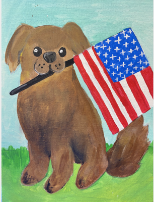 American Puppy Paint kit