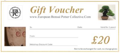 EBPC Gift Voucher - £20
