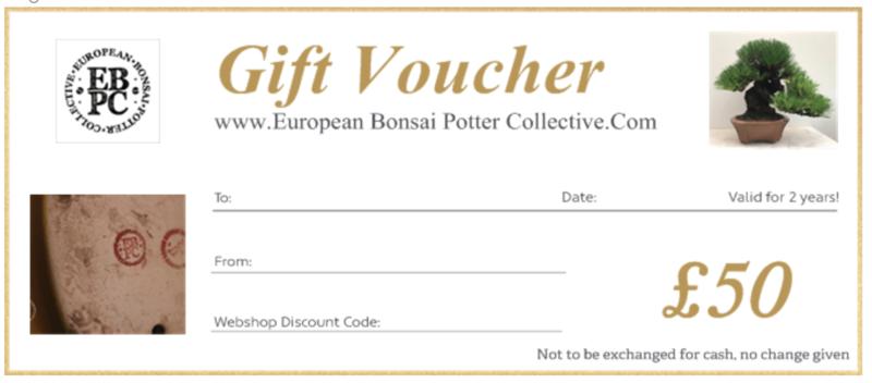 EBPC Gift Voucher - £50