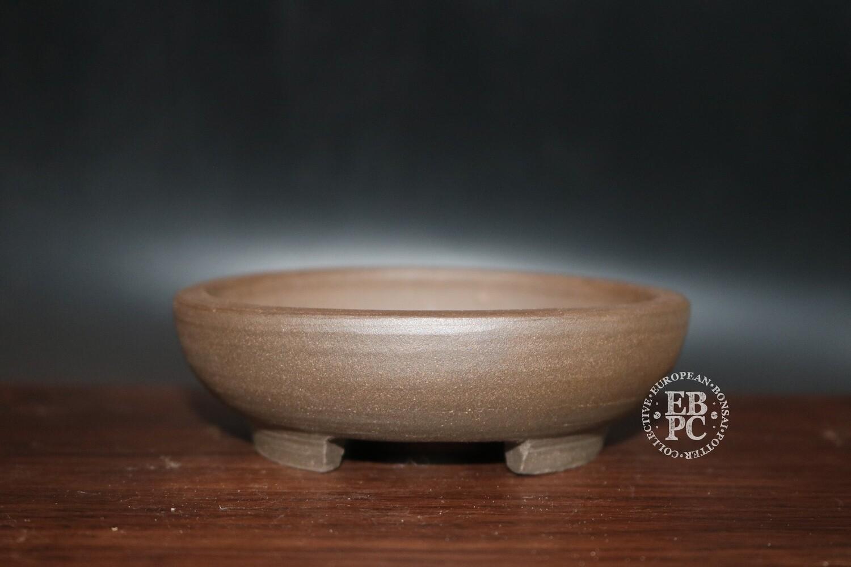 Guerao; 10.2cm; Unglazed; Round; Shohin; Guerao Pot