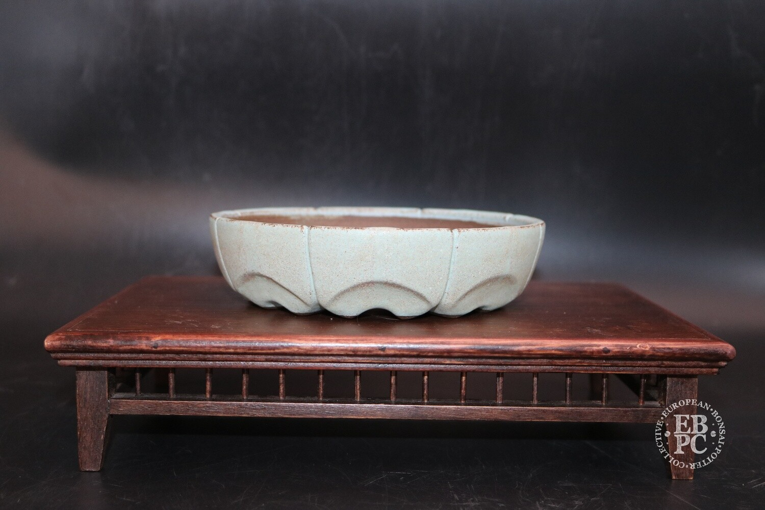 SOLD - Me and Raimondi - 16cm; Round with segmented design; Glazed; Cream; Greens; Yellows; Matjaz Raimondi & Nastja Legvart