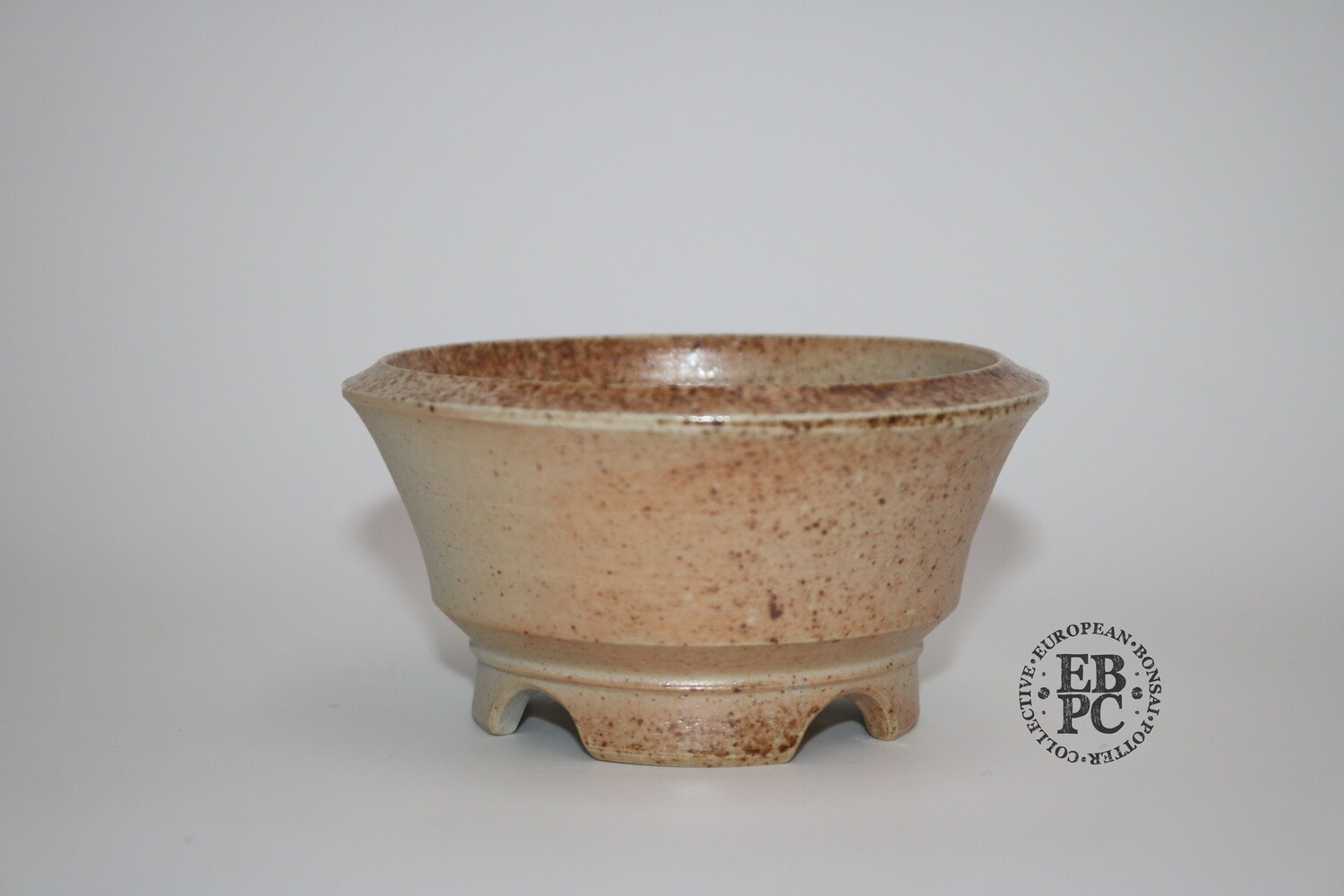 SOLD - Gramming Pots - 10cm; Round; Wood-fired; Unglazed; Tomas Gramming