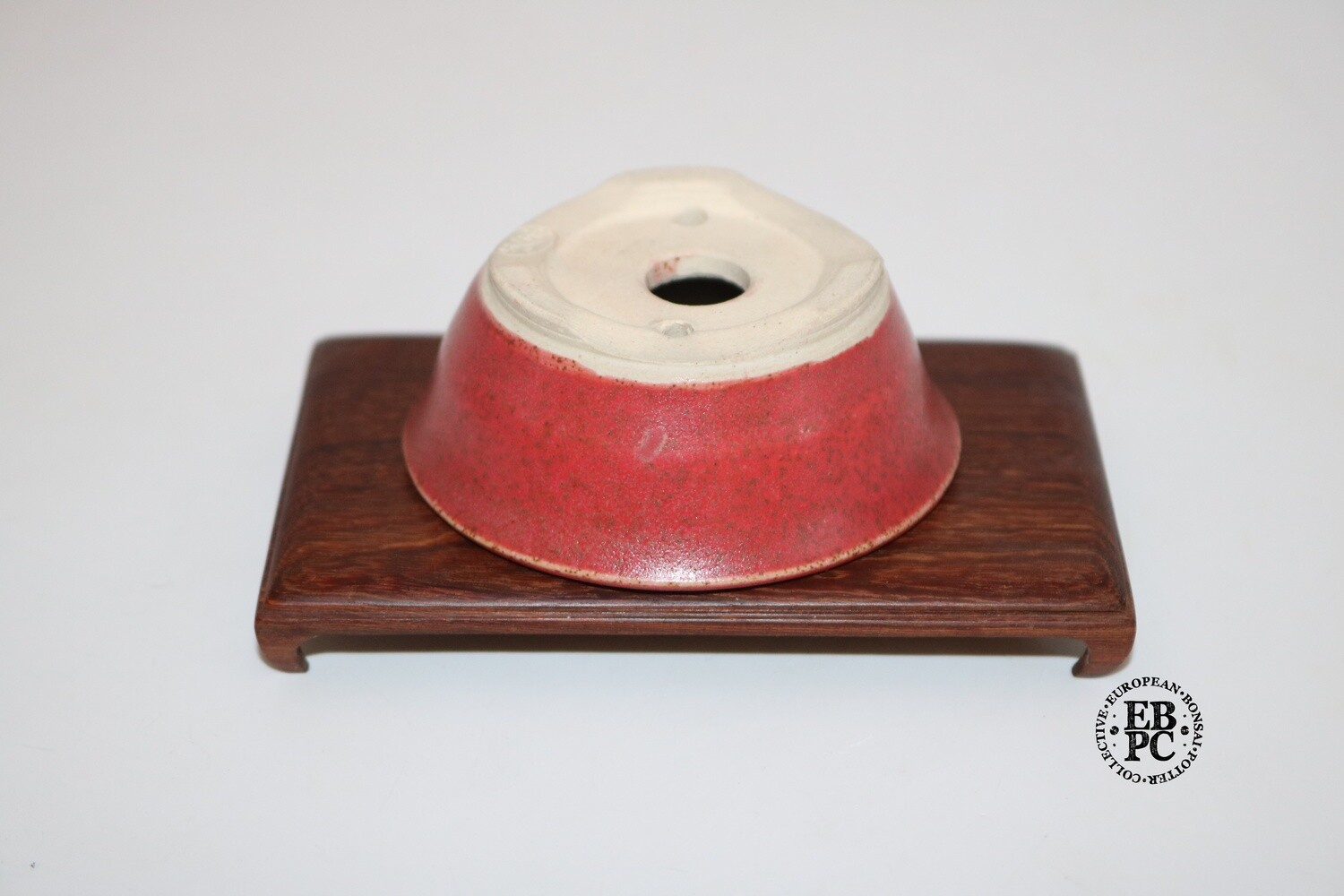 PAS Pots - 7.2cm  'Sublime Reds'; Round; Mame / Accent pot; Hand Thrown; Superb Glaze; Detailed foot ring; Patricia