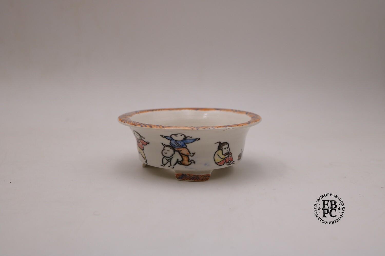 Guerao Bonsai Pots -Collaboration Piece! Porcelain; Painted Scenes; 5-Colour; Unique Piece; Guerao Pot; 1st & 2nd Gen