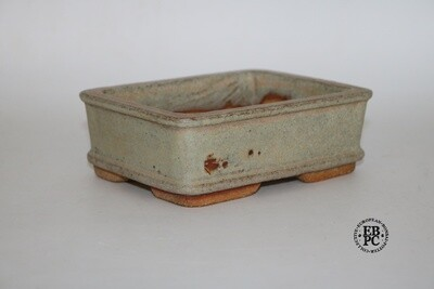 Gramming Pots - 14.3cm; Rectangle; Glazed; Creams; Browns; Older Tomas Gramming Pot