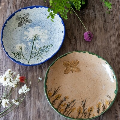 Flower Fossil Collectors Bowl