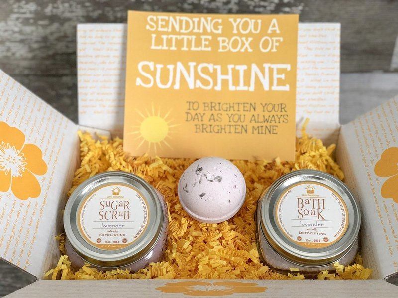 Sun Kissed Box
