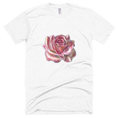 Rose Spirit Medicine || Short sleeve soft t-shirt